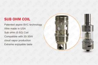 Aspire Atlantis Replacement Bottom Vertical Coil