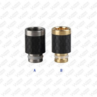510 Drip Tip Carbon-Stainless Steel
