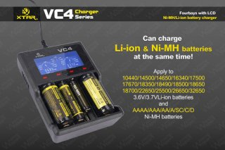 XTAR VC4 Multi Charger