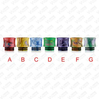 810 Drip Tip Resin Multicolor Slim
