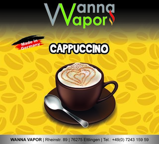 Cappuccino 30ml/60ml Mix & Vape